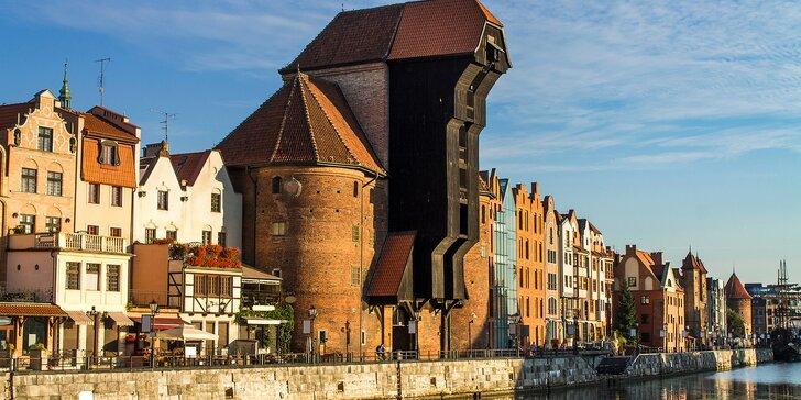 Apartmány na břehu řeky: rodinný pobyt v Gdaňsku se snídaní a wellness