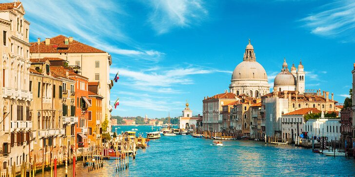 2 noci v Itálii s polopenzí: celý den v Benátkách i písečné pláže v Caorle