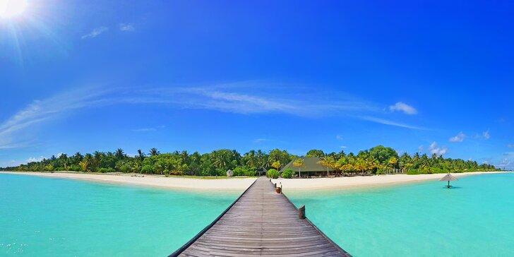 Pravá exotika v 4* resortu na Maledivách: 6–12 nocí, plná penze, spa a fitness