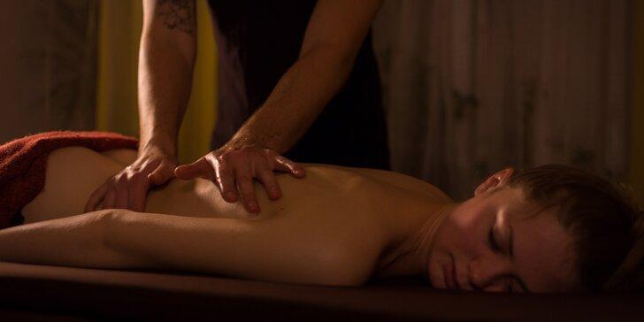 Harmonie a uvolnění díky kašmírské nebo tantrické masáži pro jednoho či pár