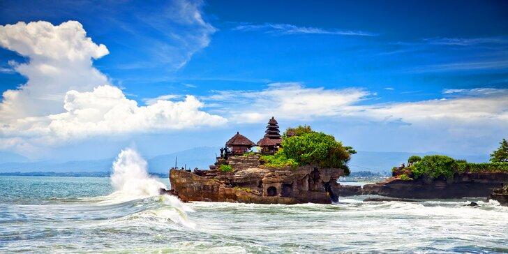 Poznávací zájezd na Bali: letenka, 12 nocí v 4* hotelech se snídaní, průvodce