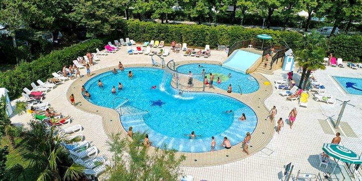 d7d4b0d53 Italské Lignano: týden v kempu vč. polopenze a koupání v moři i bazénech