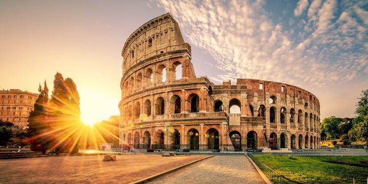 Letecký zájezd do Říma: 3 noci v centru města a průvodce pro menší skupinu