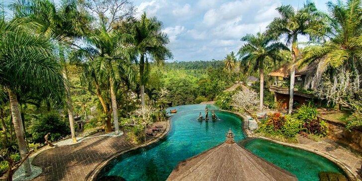 Klid a odpočinek na Bali: 6–12 nocí v 4* resortu se snídaní, bazénem a lázněmi