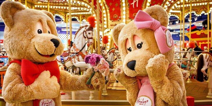 Zabavte rodinu v parádním hračkářství Hamleys: 30% sleva na atrakce i zboží