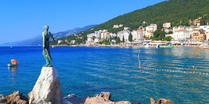 Dovolená na Istrii v Chorvatsku: ubytování v moderním apartmánu s terasou