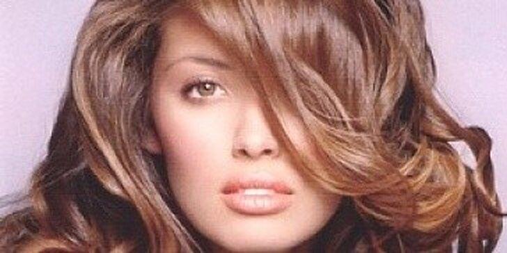 Profesionální prodlužování a zhušťování vlasů