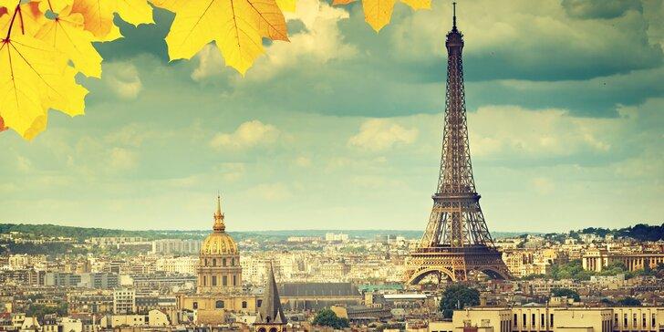 Noblesní Paříž: letenka, 3x nocleh blízko metra a průvodce pro malou skupinu