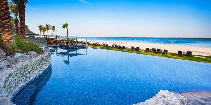 Za exotikou a relaxem do emirátu Dubaj: 4–9 nocí v 5* resortu s polopenzí