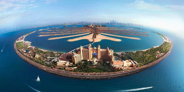 Perfektní dovolená u moře v emirátu Dubaj: 4–9 nocí v 5* resortu s polopenzí
