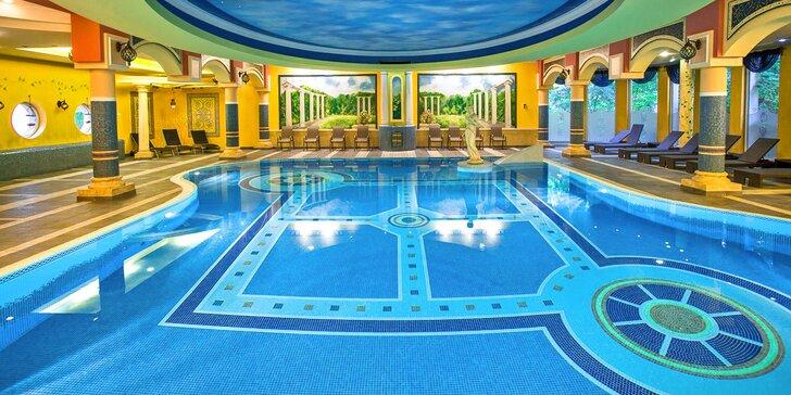 Hotel jako z Tisíce a jedné noci: neomezený wellness, polopenze i výlety