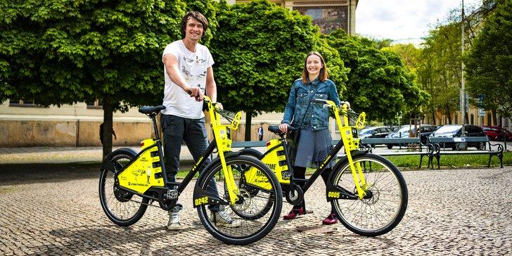 Bezstanicový bikesharing: 50 nebo 70 kreditů na půjčení elektrokola Freebike