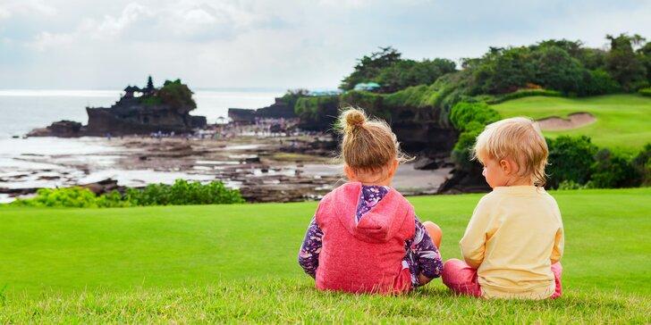 S rodinou na Bali: 11 nocí v hotelech i vile s bazénem, snídaně, rafting a výlety