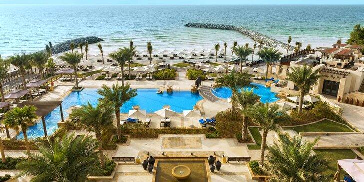 Luxusní pobyt v emirátu Ajman: 4–9 nocí v 5* resortu u pláže s all inclusive
