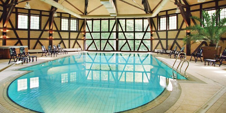 Wellness pobyt na romantickém zámku v Polsku: polopenze, relax i sport