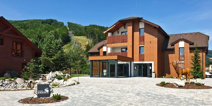 Dovolená pro 2 či rodinu ve Valčianské dolině se skvělým vyžitím pro děti