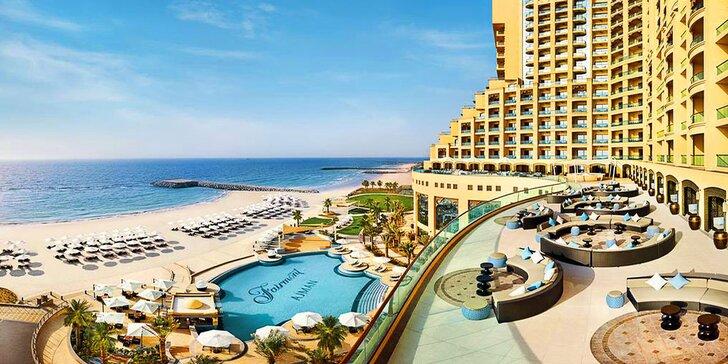 Boží dovolená v emirátu Ajman: 4–9 nocí s all inclusive v 5* resortu u pláže