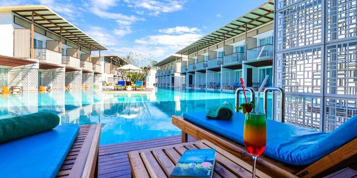 Exotický 4* resort v Thajsku pro dokonalý relax: 6–12 nocí, snídaně, bazén