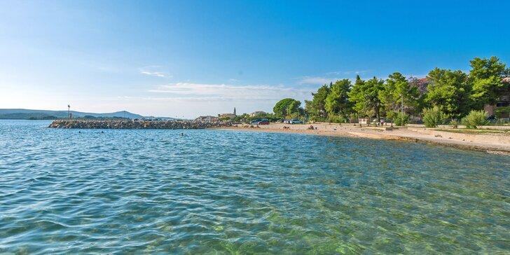 Dovolená v chorvatském letovisku Turanj: 7 nocí ve vile 120 m od pláže