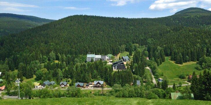 Retro penzion v Harrachově: snídaně či polopenze, termíny až do prosince