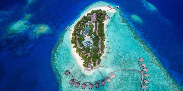 Exotika a odpočinek v 4*+ resortu na Maledivách: 6–12 nocí s all inclusive