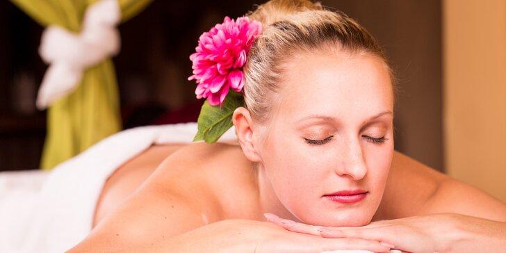 Olejová masáž od masérek z Thajska v salonu Ban Thai: 60 nebo 90 minut