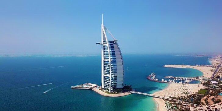 Zážitek na celý život: 4–9 nocí v 6* resortu Burj Al Arab v Dubaji s polopenzí