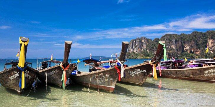 4* exotický resort v Thajsku: 6–12 nocí, snídaně, 2 bazény, 200 m od pláže