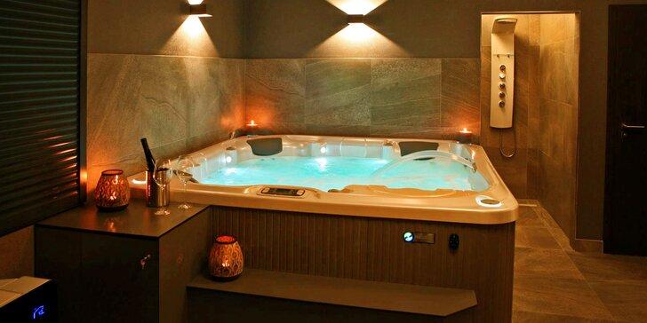 Uvolněte se: masáže, privátní vířivka, sauna i romantický balíček pro 2 osoby