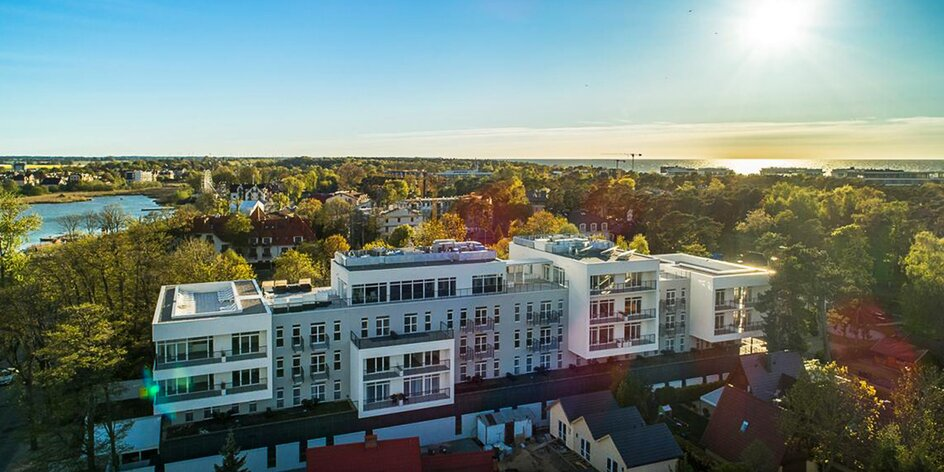 Luxusní hotel u Baltu a jezera Jamno se snídaní