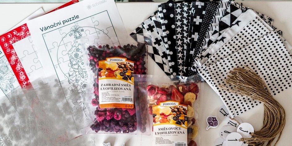 Mama blogerka tvoří: adventní kalendář plný ovoce pro děti
