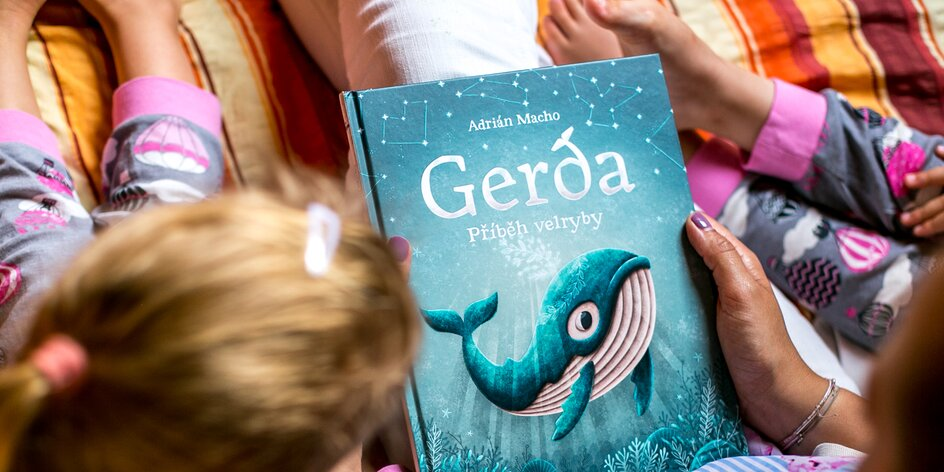 Co čte dětem a s dětmi mama blogerka roku?