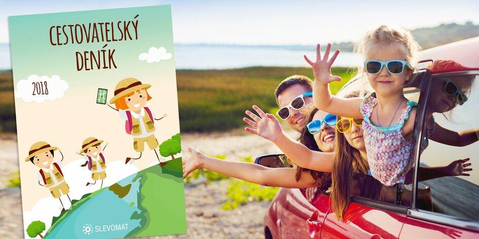 Prázdninový deník: zábava pro děti, luštění na léto