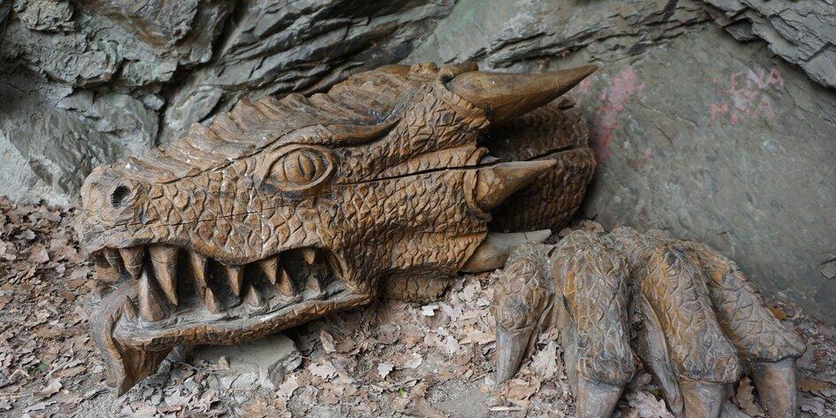 Hrady a zámky na Moravě 1.díl – kam s dětmi za drakem či za Kukym?