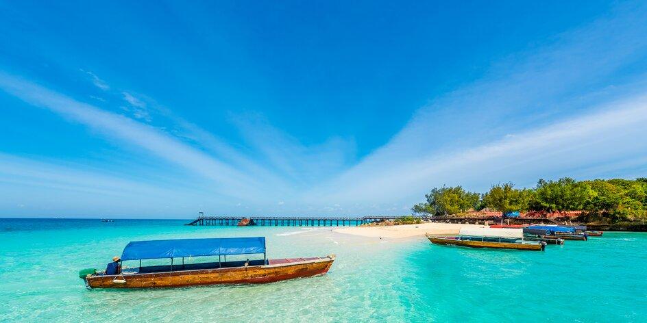 Exotický Zanzibar, ostrov koření a bílých písečných pláží