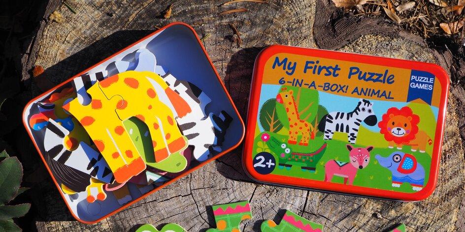 Nejlepší dárky podle mama blogerek: Moje první puzzle 6v1