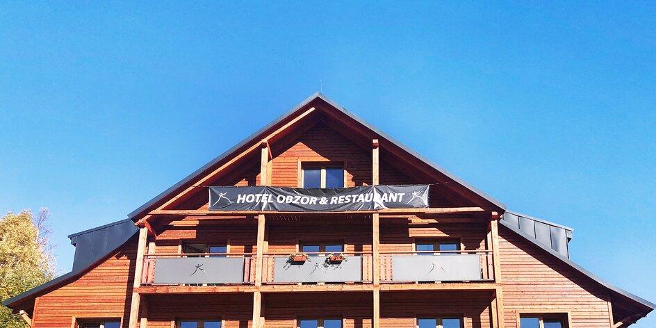 Hotel pro rodiny v Peci přímo na sjezdovce? S dětmi jej otestovala mama blogerka