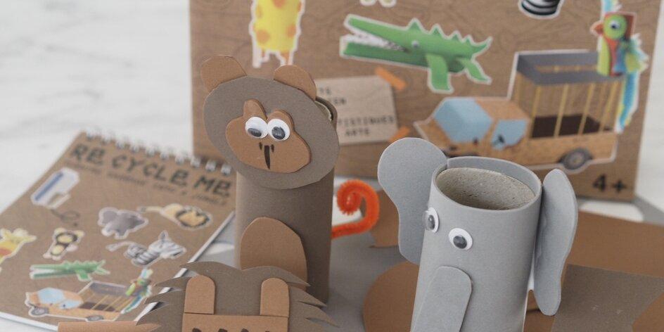 Mama blogerka vyzývá: tvořte s dětmi a učte je recyklovat zároveň