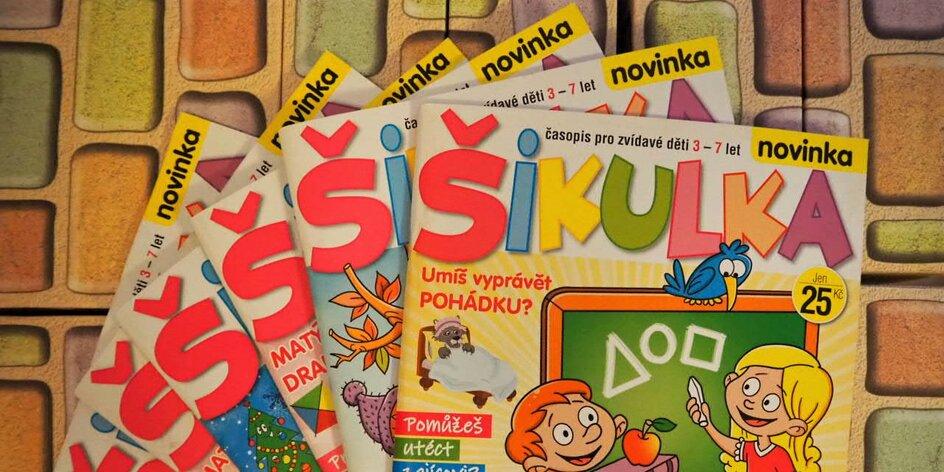 Předplaťte dětem časopis Šikulka: zábava, aktivity a úkoly na spoustu hodin