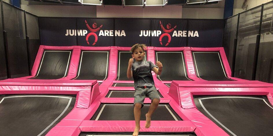 Jump Arena na Zličíně: trampolínový ráj pro malé i velké