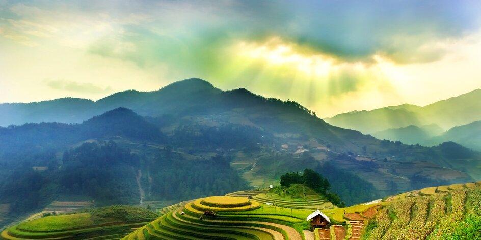 Představujeme vám Vietnam, zemi rýžových polí a polévky Pho