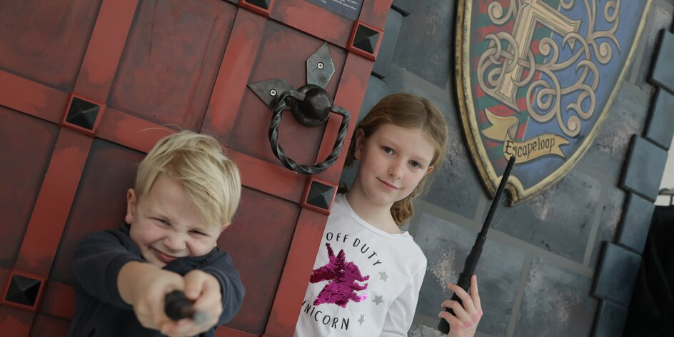 Vyrazte s dětmi na únikovku: Škola kouzel na Černém Mostě