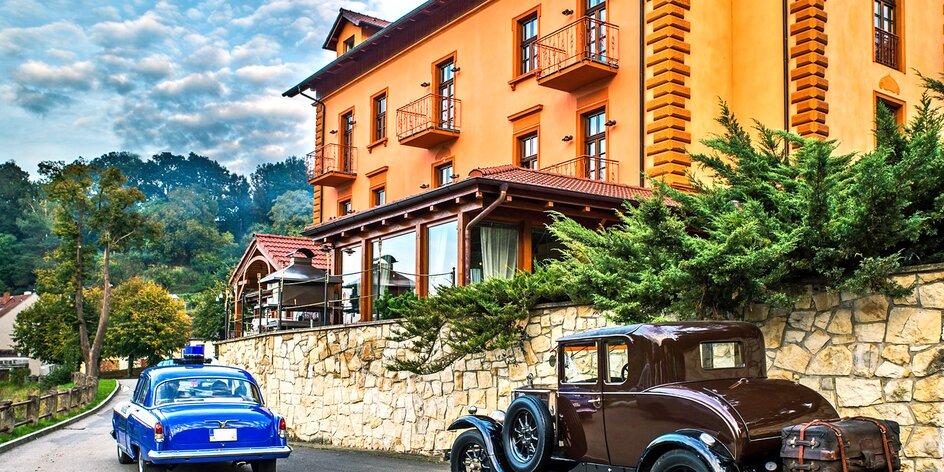 Pobyt v historické lázeňské budově v Táboře