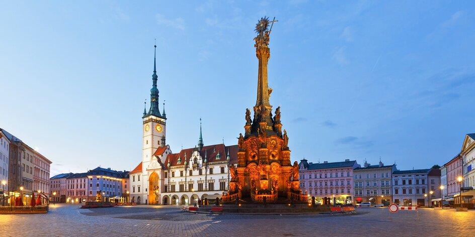 Pobyt v prvním smarthotelu v Olomouci se snídaní