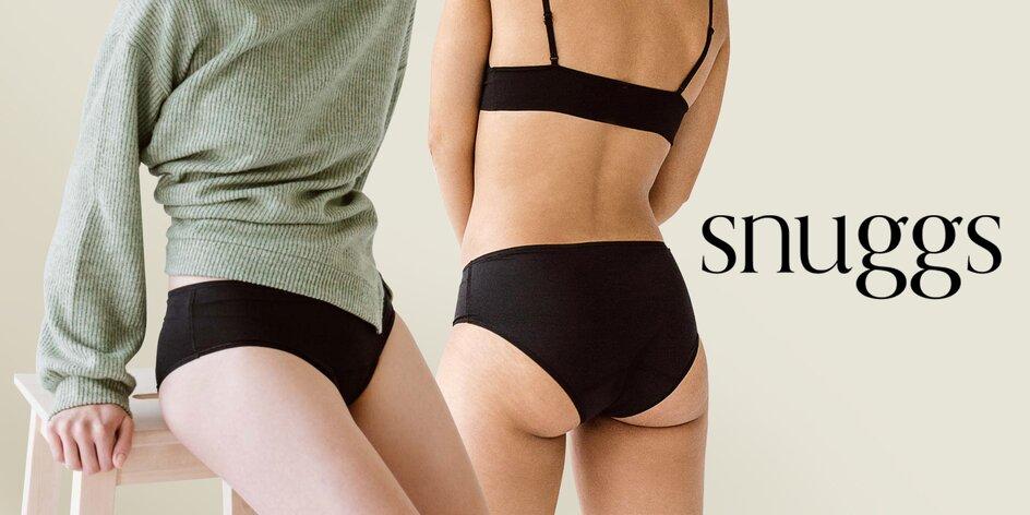Menstruační kalhotky Snuggs místo vložek a tampónů