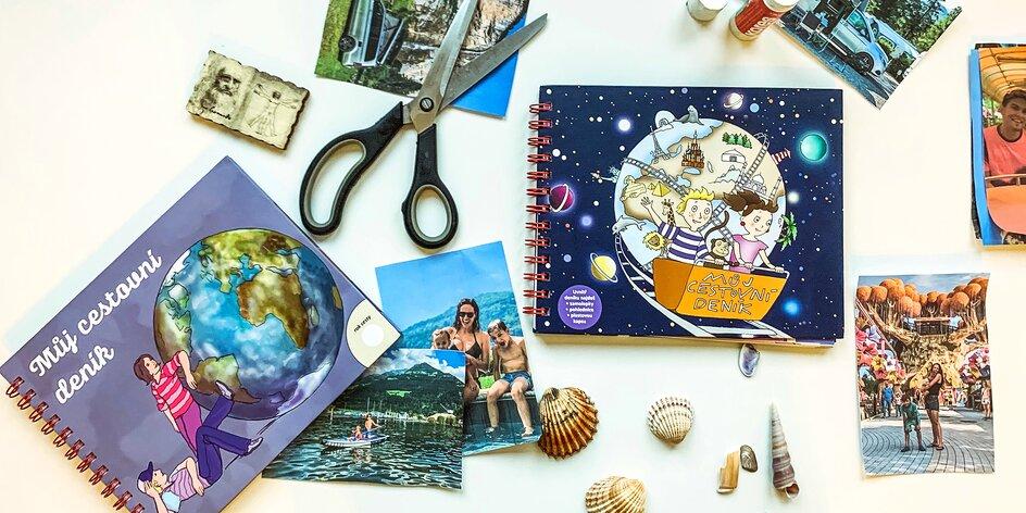 Výletní deníky pro tvořivé děti: testuje mamablogerka