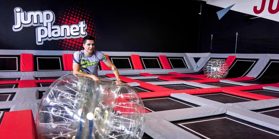Hodina skákání v nově otevřeném Jump Planet Brno