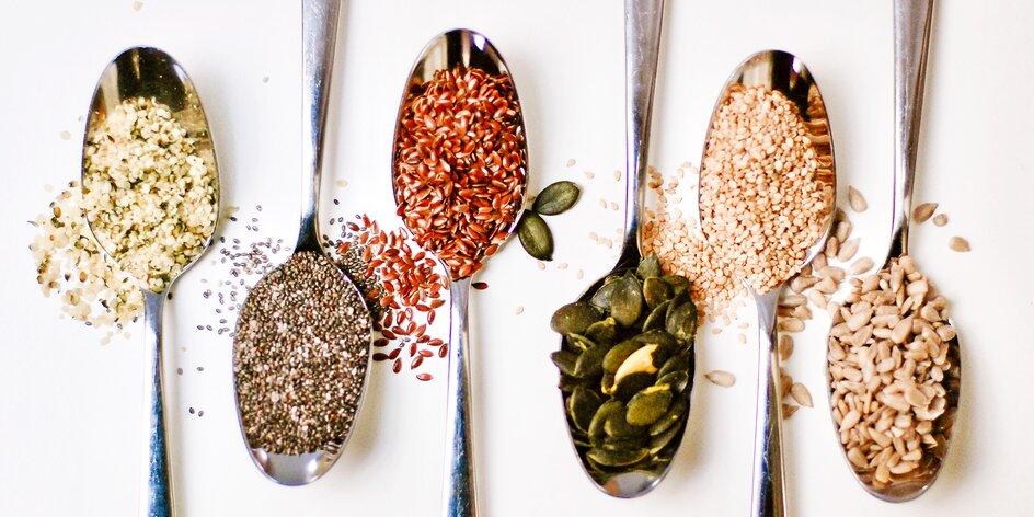 Seed cycling – upravte si hormonální cyklus konzumací semínek