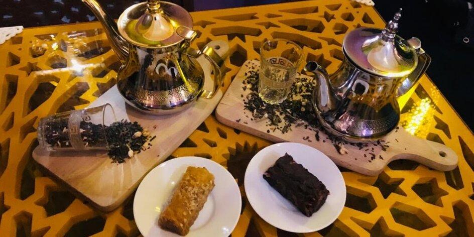 Posezení v orientální čajovně La Kasbah pro dva