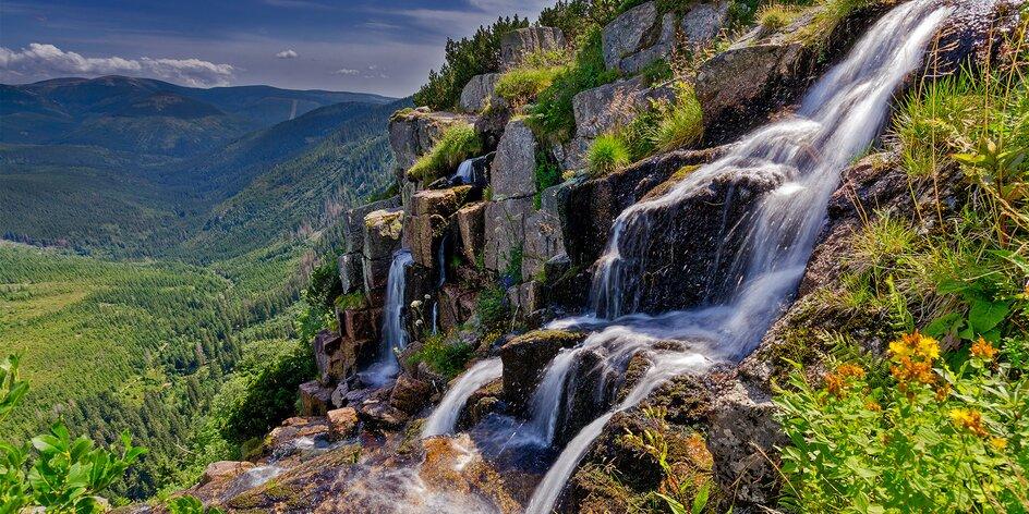 Jak dobře znáte Krkonoše? Utajené vodopády i voda, která teče do kopce